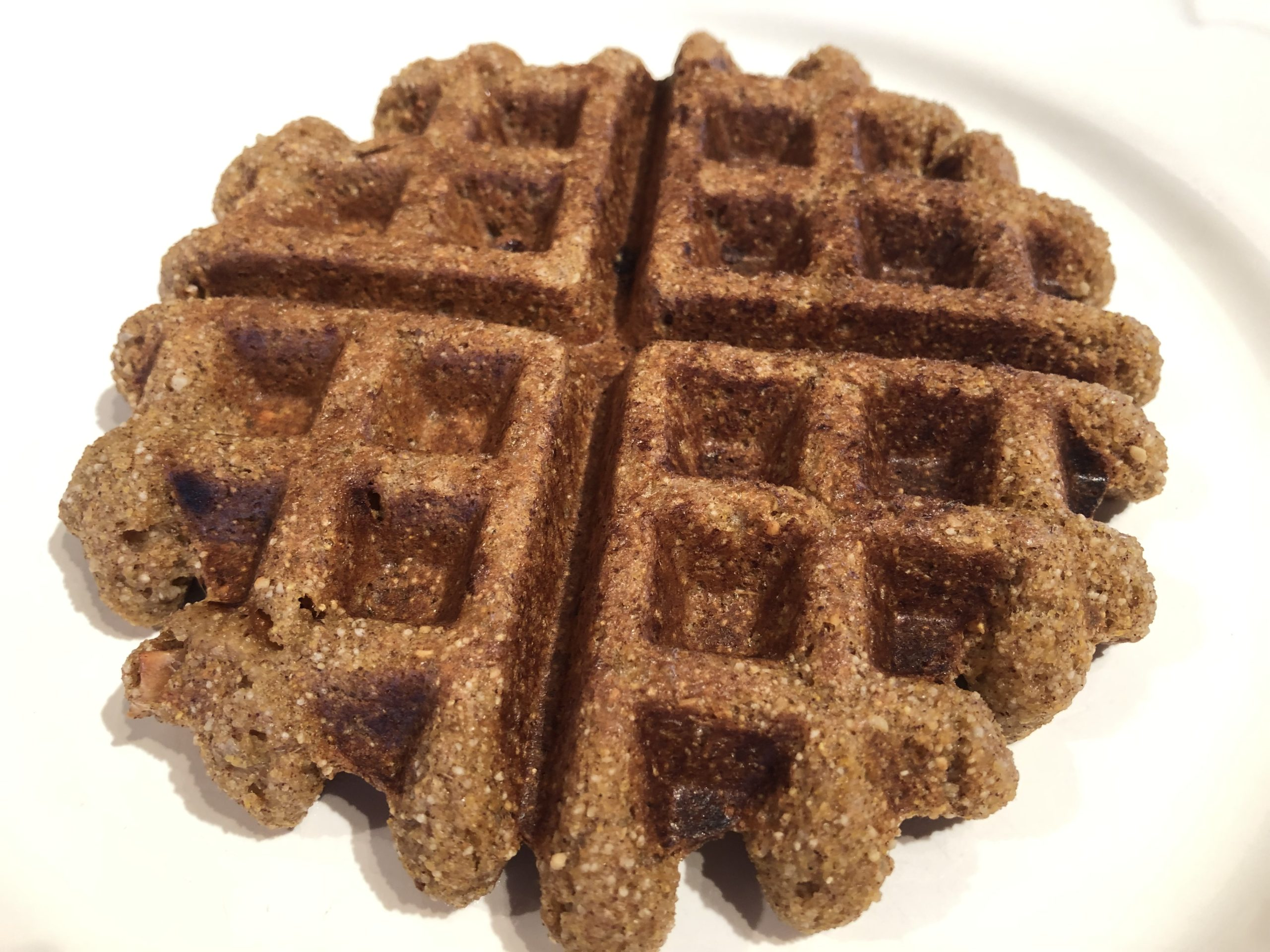 Blissful Belly Buckwheat Cinnamon Waffle